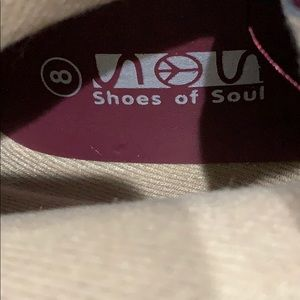 shoes of soul Shoes - Shoes of Soul fringe wedge boot size 8. New no box